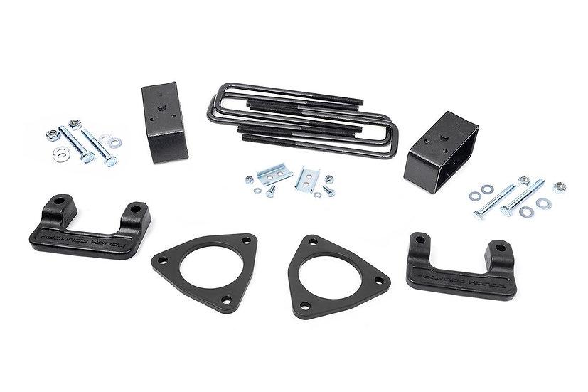 2.5in GMC Leveling Lift Kit (14-18 1500 Denali PU w/MagneRide | Cast Aluminum)
