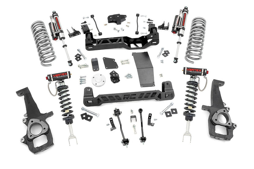 6in Ram Suspension Lift Kit | Vertex Struts & Vertex Shocks (12-18 1500 4WD)