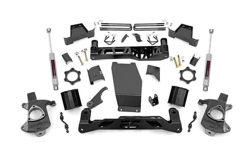 6in GM Suspension Lift Kit w/N3 (14-18 1500 PU 4WD | Aluminum/Stamped Steel)