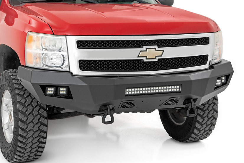 Chevy Heavy-Duty Front LED Bumper (07-13 1500)