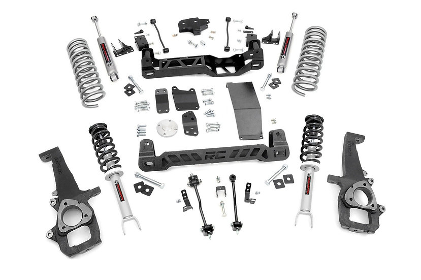 6in Dodge Suspension Lift Kit | Lifted Struts (09-11 Ram 1500 4WD)