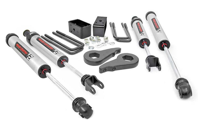 1.5 - 2.5in GM Leveling Lift Kit w/ V2 Shocks (99-06 1500 PU 4WD)