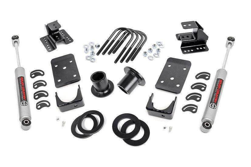 1-2in / 4in GM Lowering Kit (07-14 1500 PU 2WD)