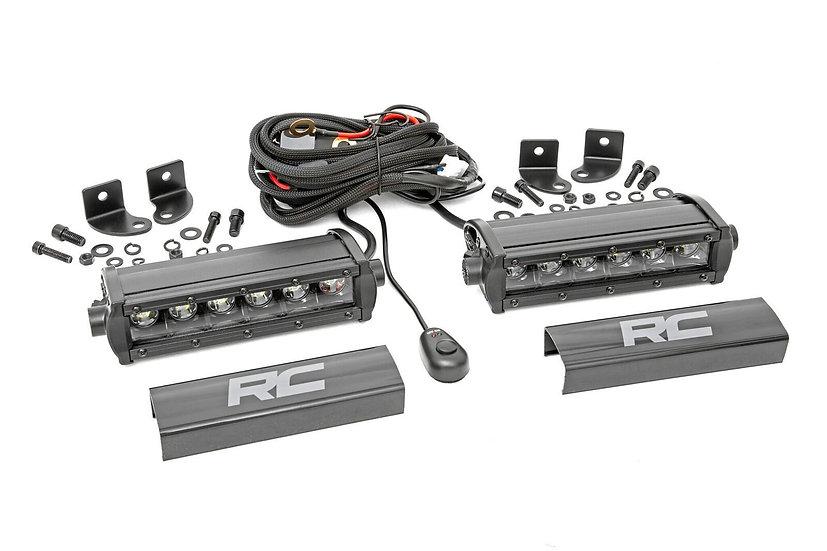 6-inch Cree LED Light Bars (Pair | Black Series)