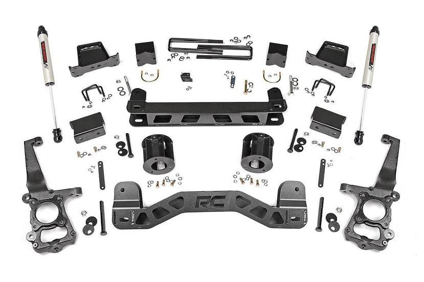 6in Ford Suspension Lift Kit w/V2 Shocks (15-20 F-150 2WD)