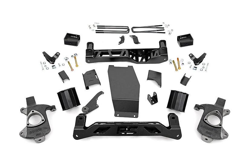 5in GMC Suspension Lift Kit (14-18 1500 Denali PU 4WD w/MagneRide | Cast Steel)