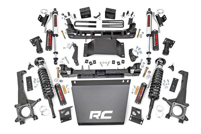 6in Toyota Suspension Lift Kit w/ Vertex Shocks (16-21 Tacoma 4WD/2WD)