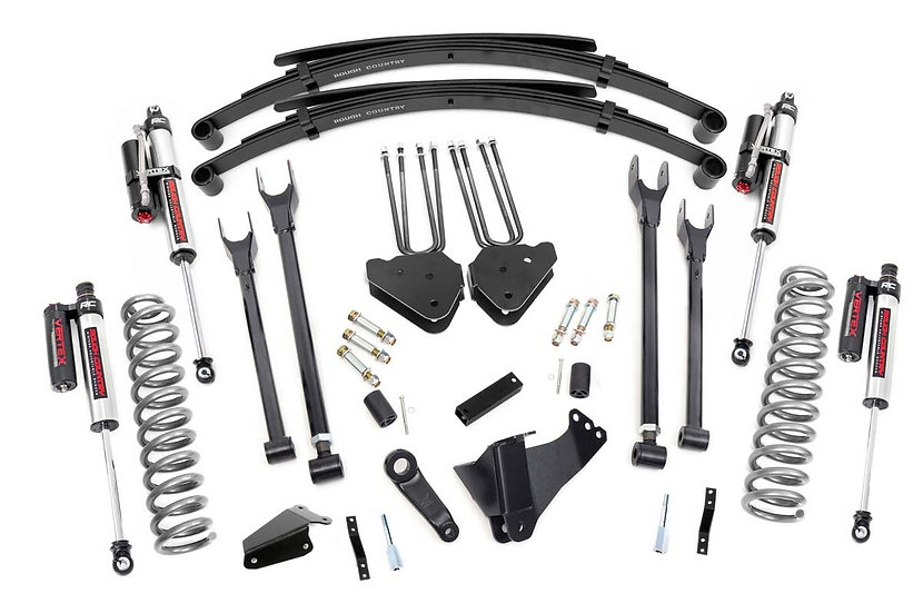 6in Ford 4-Link Suspension Lift System w/ Vertex Shocks (05-07 F-250/350 4WD)
