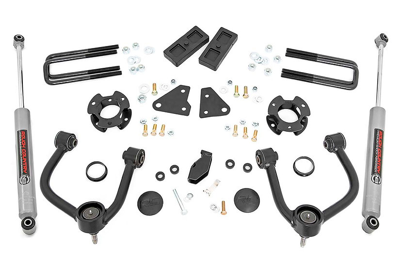 3.5in Ford Leveling Kit w/ N3 Shocks (19-20 Ranger 4WD)
