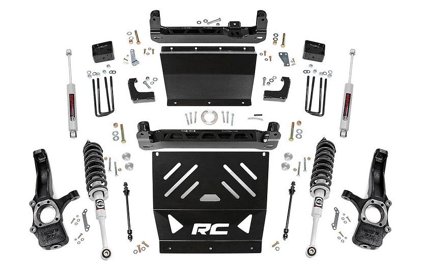 4in GM Suspension Lift Kit | Lifted Struts (15-21 Canyon/Colorado 2WD/4WD)