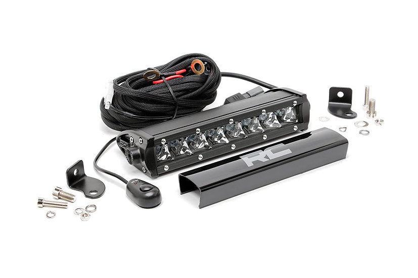 8-inch Cree LED Light Bar (Chrome Series)