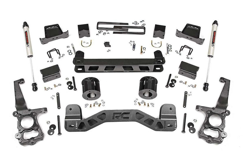 6in Ford Suspension Lift Kit  w/V2 Shocks (11-14 F-150)