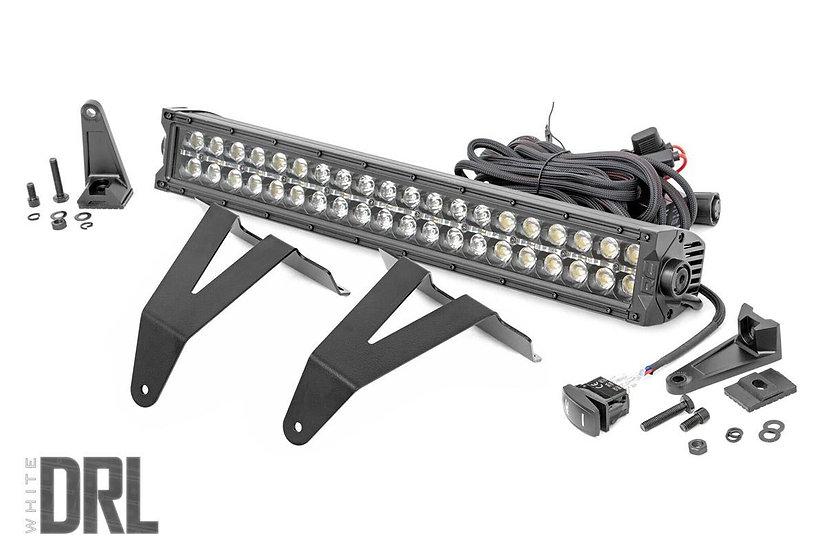 20in LED Bumper Kit   Black Series w/ Cool White DRL (19-21 RAM 1500)
