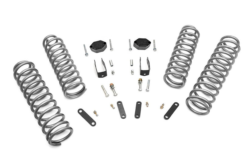 2.5in Jeep Suspension Lift Kit (07-18 JK Wrangler Unlimited)