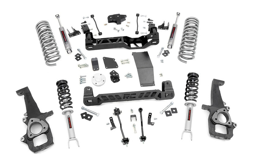 6in Ram Suspension Lift Kit | N3 Struts & N3 Shocks (12-18 1500 4WD)