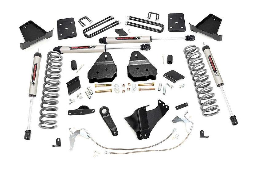 6in Ford Suspension Lift Kit w/V2 Shocks (11-14 F-250 4WD)