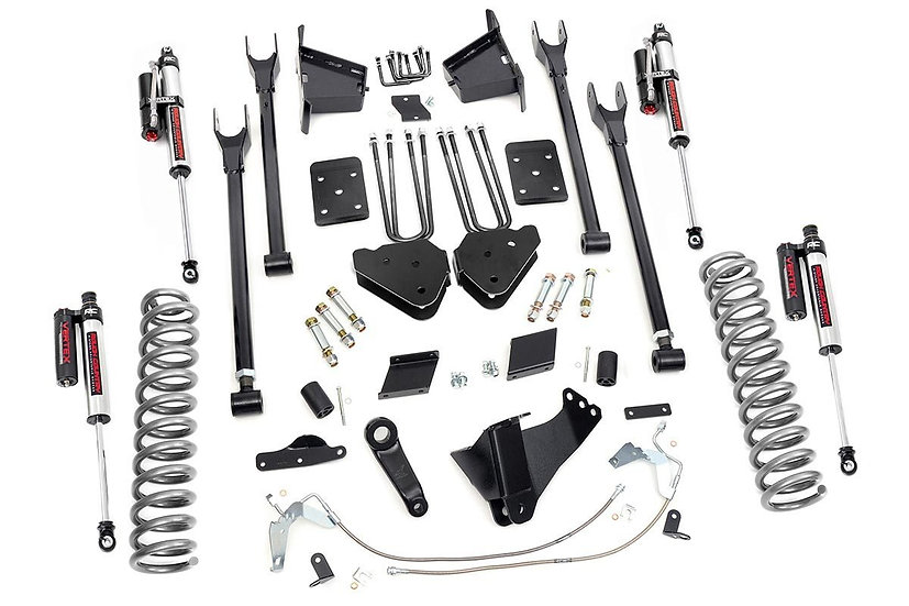 6in Ford 4-Link Suspension Lift Kit | Vertex (11-14 F-250 4WD | No Overloads)