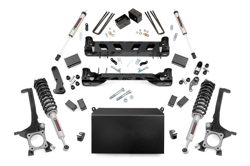 4.5in Toyota Suspension Lift Kit w/ N3 Struts and V2 Shocks (07-15 Tundra)
