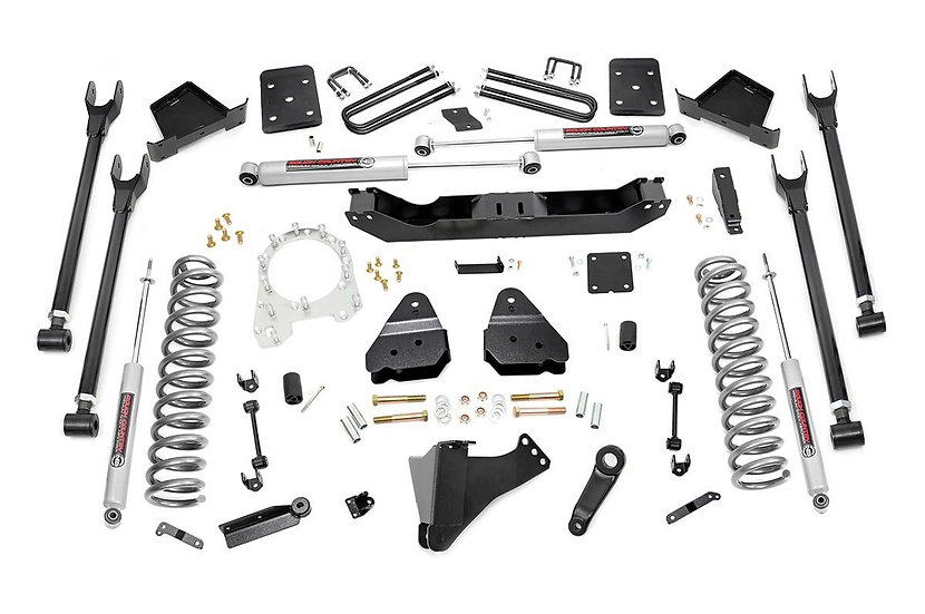 6in Ford 4-Link Suspension Lift Kit (17-20 F-250 4WD | Diesel | w/o Overloads)