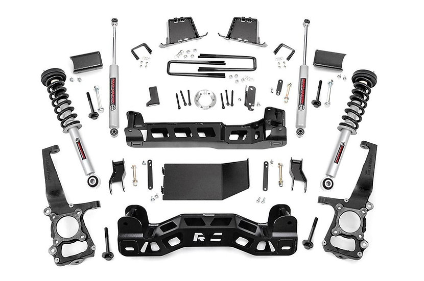 6in Ford Suspension Lift Kit | Lifted N3 Struts (09-10 F-150 4WD)