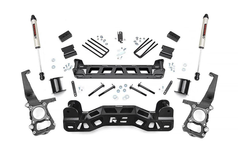 4in Ford Suspension Lift Kit w/V2 Shocks (09-10 F-150)
