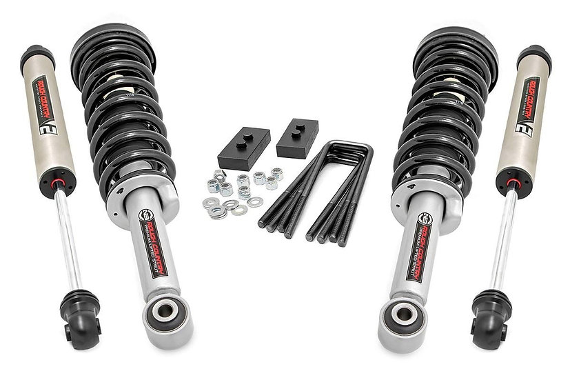 2in Ford Leveling Kit w/N3 Struts and V2 Shocks (2021 F-150)
