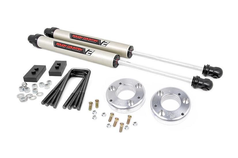 2in Ford Leveling Lift Kit w/ V2 Shocks (14-20 F-150)