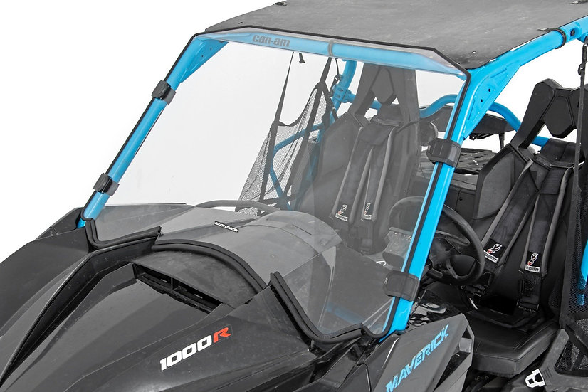 Can-Am Full Scratch Resistant Full Windshield (13-18 Maverick)