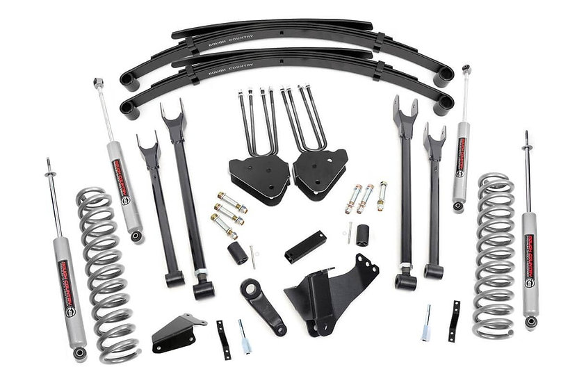 6in Ford 4-Link Suspension Lift System (Gas)