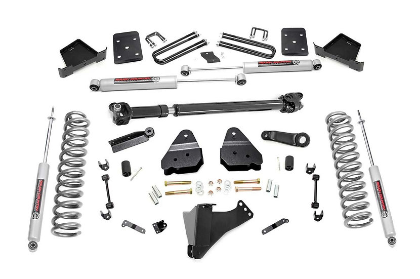 4.5in Ford Suspension Lift Kit w/ Front Drive Shaft (17-20 F-250 4WD | Diesel)
