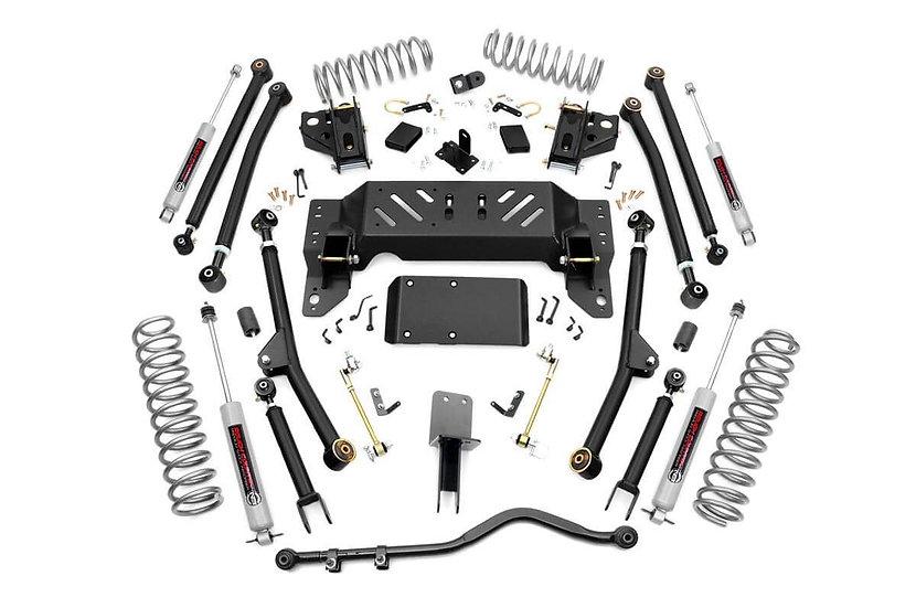 4in Jeep Long Arm Suspension Lift Kit (93-98 Grand Cherokee ZJ)