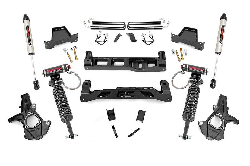 7.5in GM Suspension Lift Kit w/Vertex & V2 Shocks (07-13 1500 PU)