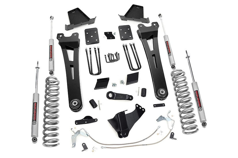 6in Ford Radius Arm Suspension Lift Kit (11-14 F-250 | Overloads)