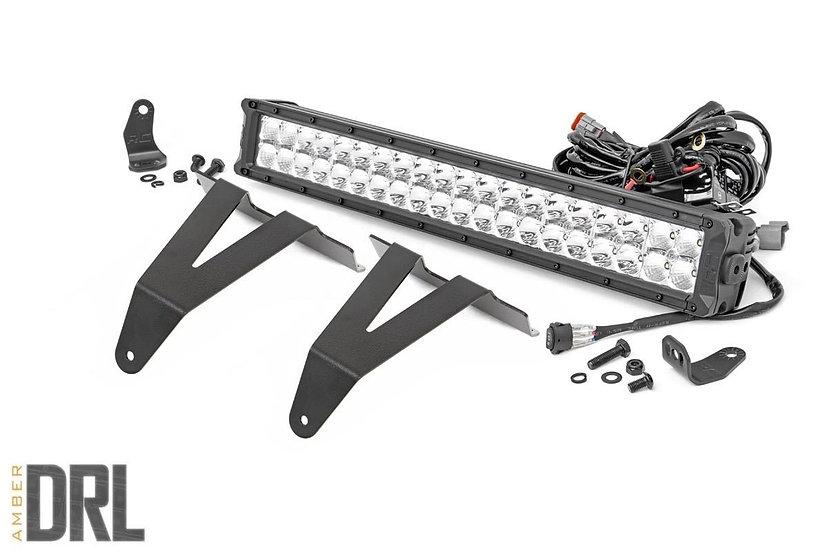 20in LED Bumper Kit | Chrome Series w/ Amber DRL (19-21 RAM 1500)