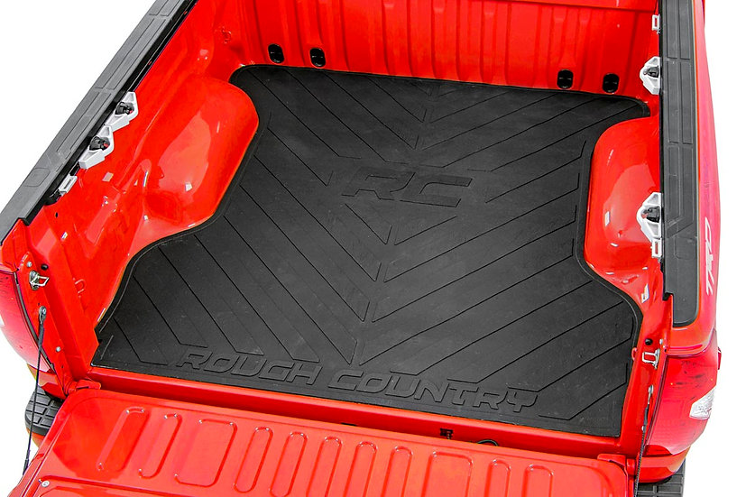 Dodge Bed Mat w/RC Logos (19-21 Ram 1500 | 6ft 4in Bed)