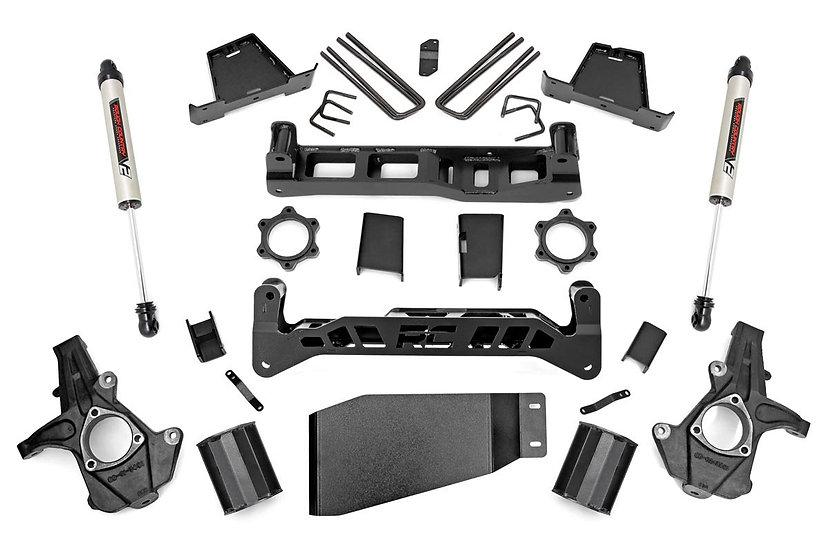 7.5in GM Suspension Lift Kit | Strut Spacer w/ V2 Shocks (07-13 1500 PU)