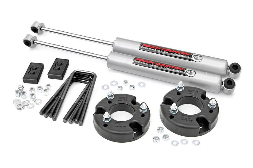 2in Ford Leveling Kit w/N3 Shocks (2021 F-150)