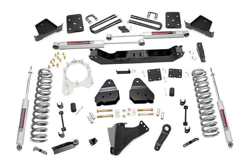 6in Ford Suspension Lift Kit (17-20 F-250 4WD w/Overloads | Diesel)