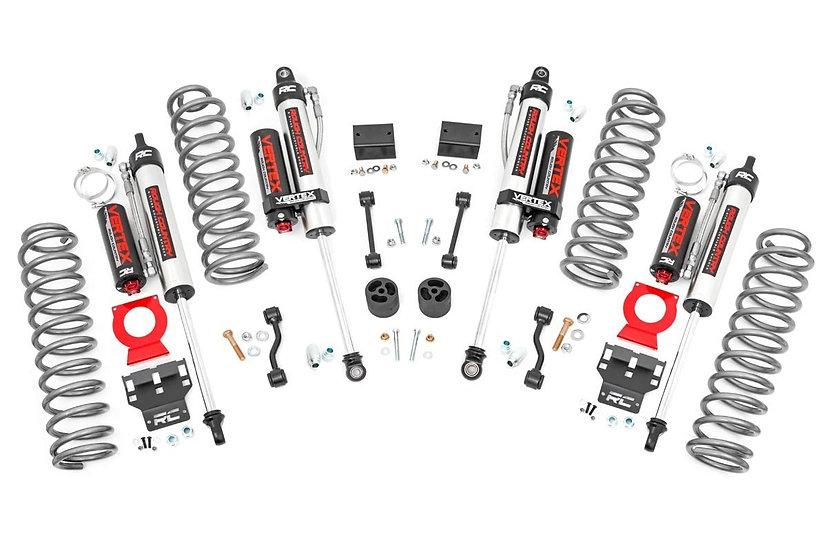 2.5in Jeep Suspension Lift Kit | Springs & Vertex Shocks (18-21 Wrangler JL)
