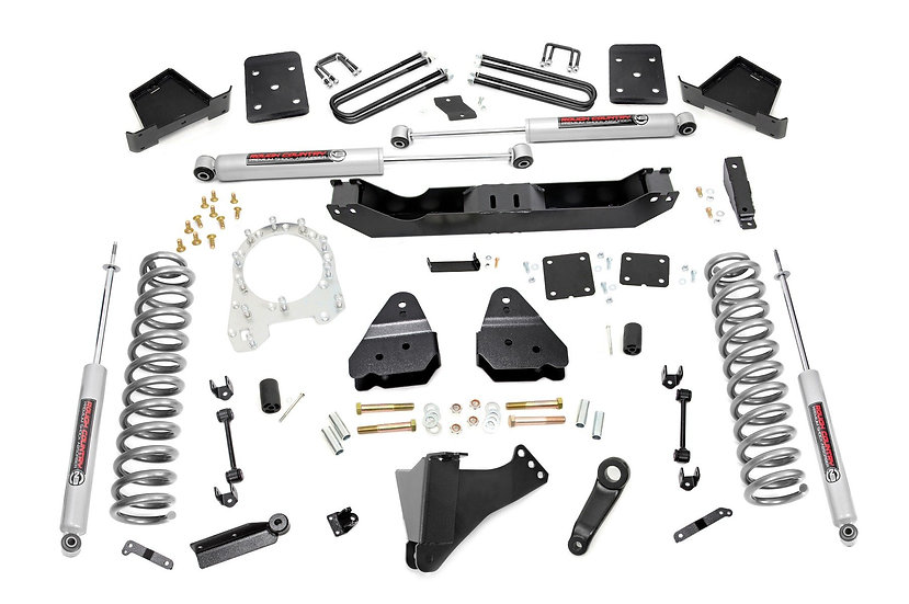4.5in Ford Suspension Lift Kit (17-20 F-250/350 4WD | 4in Axle | Diesel )