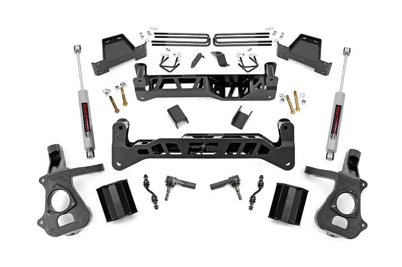7.5in GM Suspension Lift Kit w/N3 (14-17 1500 PU 2WD   Cast Steel)