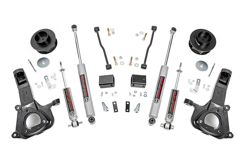 4in Ram Suspension Lift Kit (09-18 1500 2WD)