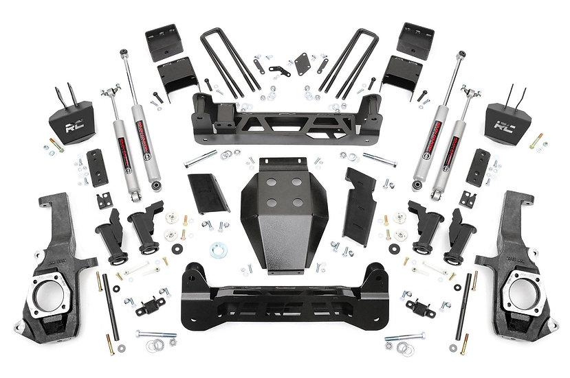 7.5in GM Torsion Bar Drop Suspension Lift Kit (11-19 2500HD/3500HD)