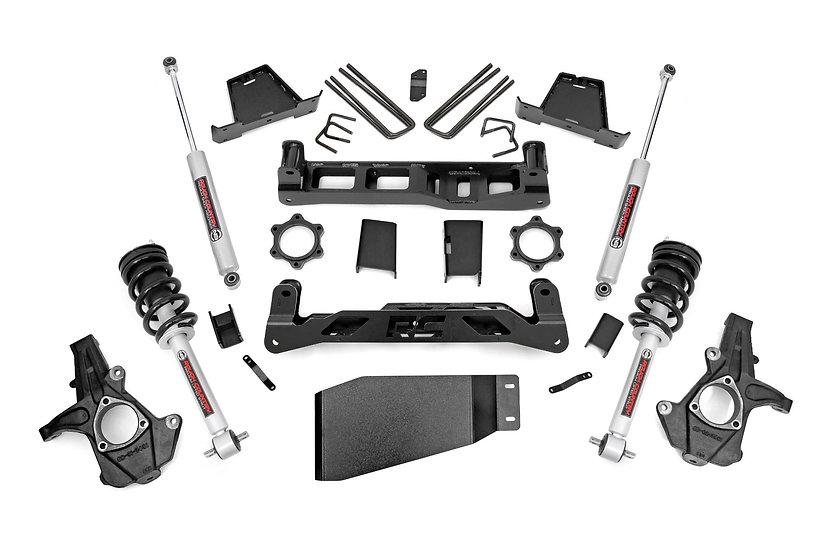 6in GM Suspension Lift Kit w/ N3 Loaded Struts & Shocks
