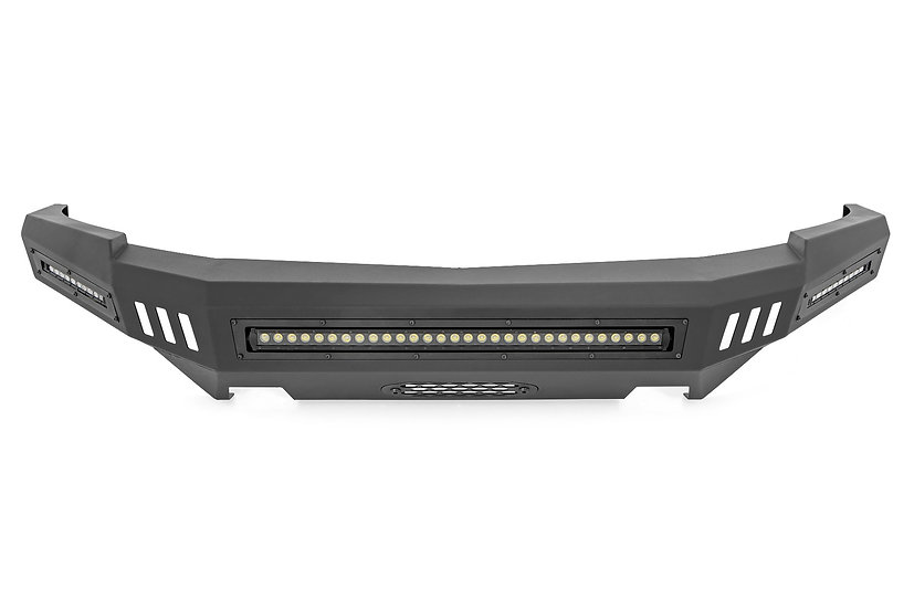 Chevy Front High Clearance Bumper Kit w/LED Lights (07-13 Silverado 1500)