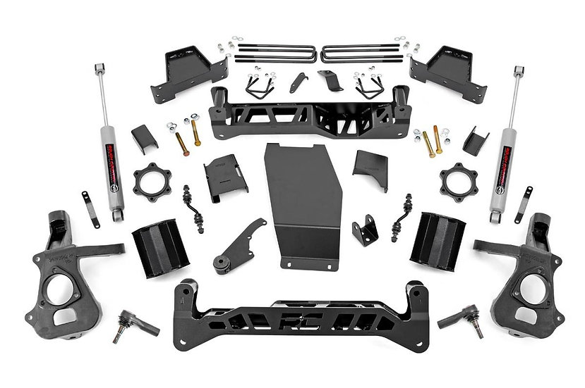 7in GM Suspension Lift Kit (14-18 1500 PU 4WD | Aluminum/Stamped Steel)