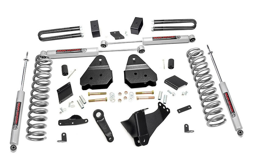4.5in Ford Suspension Lift Kit (11-14 F-250 4WD | Overloads)