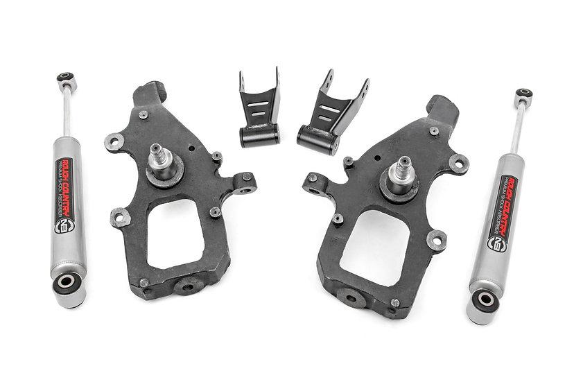 2in / 2in Ford Lowering Kit (04-08 F-150 - N2.0)