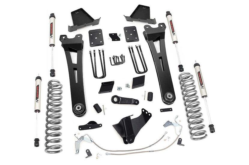 6in Ford Radius Arm Suspension Lift Kit w/ V2 Shocks (15-16 F-250)