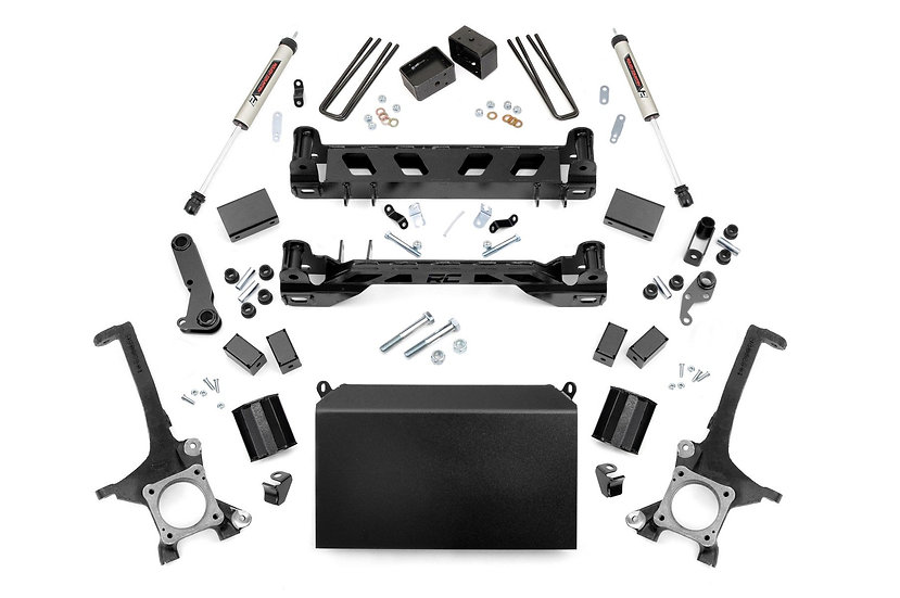 4in Toyota Suspension Lift Kit w/ V2 Shocks (16-20 Tundra 4WD/2WD)